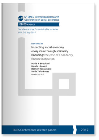 Impacting social economy ecosystem through solidarity financing: the case of a solidarity finance institution