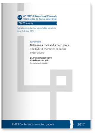 Between a rock and a hard place. The hybrid character of social enterprises