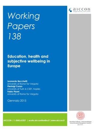 Education, health and subjective wellbeing in Europe