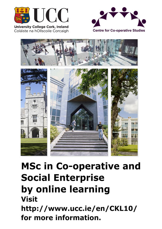 Masters in Cooperative and Social Enterprise