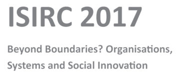 International Social Innovation Research Conference (ISIRC)