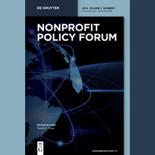 Nonprofit Policy Forum