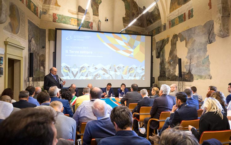 Reflecting jointly on the future of the Italian third sector