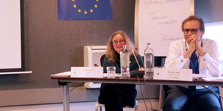 Image of Giulia Galera presentation in TAIEX