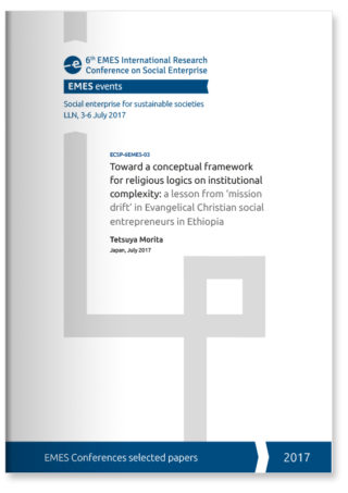 Toward a conceptual framework for religious logics on institutional complexity: a lesson from 'mission drift' in Evangelical Christian social entrepreneurs in Ethiopia