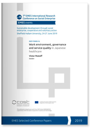 Work environment, governance and service quality in Japanese healthcare