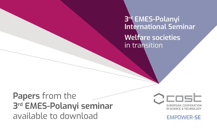 Looking at welfare societies in transition through Polanyian lenses: Papers available to download
