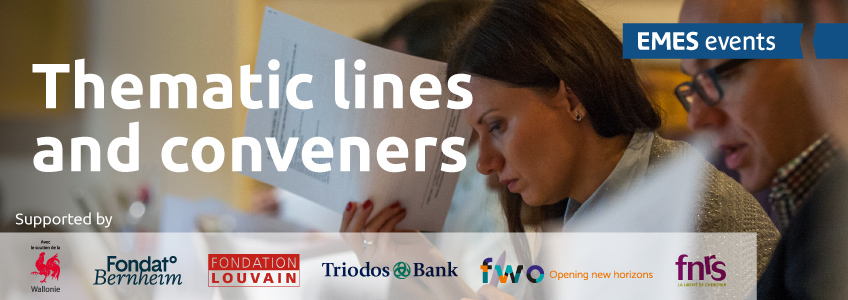 6emesconf - Thematic lines and conveners