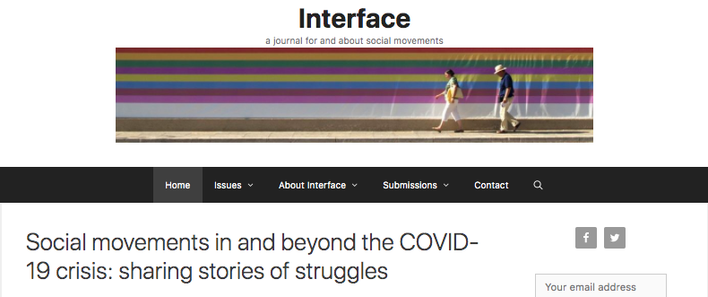 Joining a collective research effort to share stories of struggles during the Covid19 pandemic