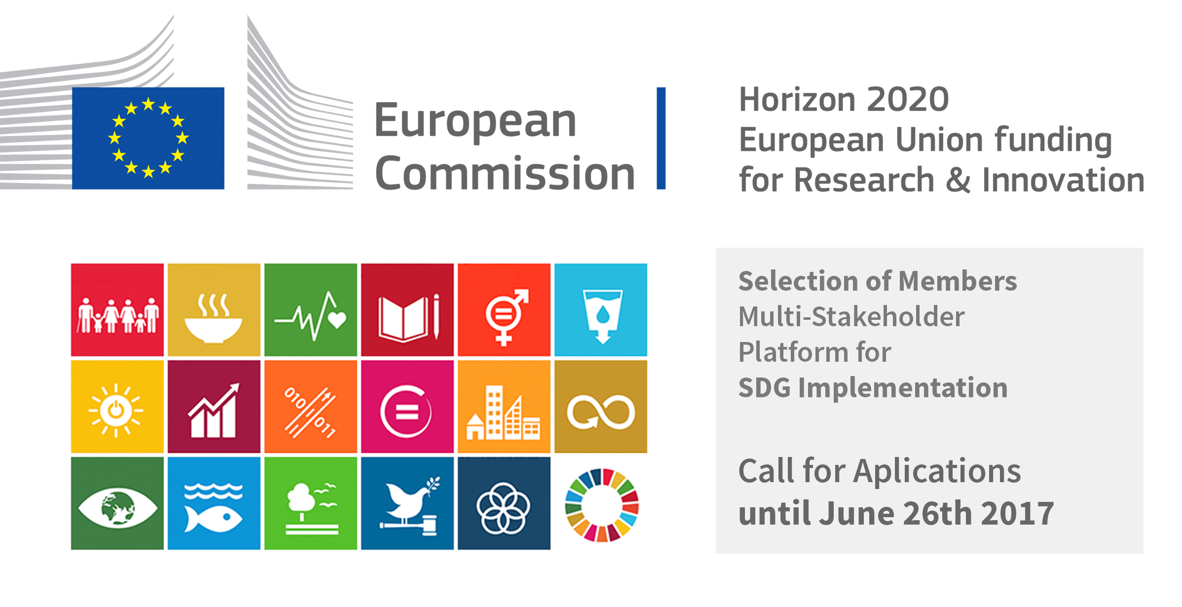 EU Call for Applications on SDG Implementation