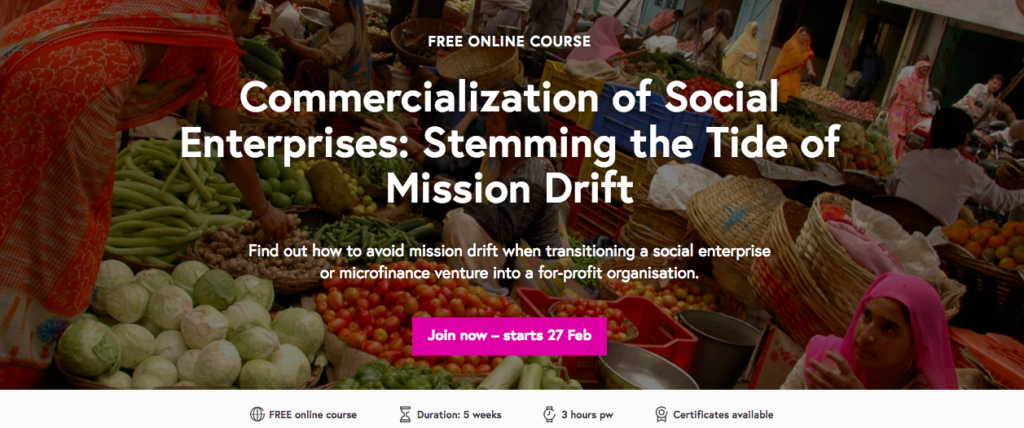 mooc online course social enterprises