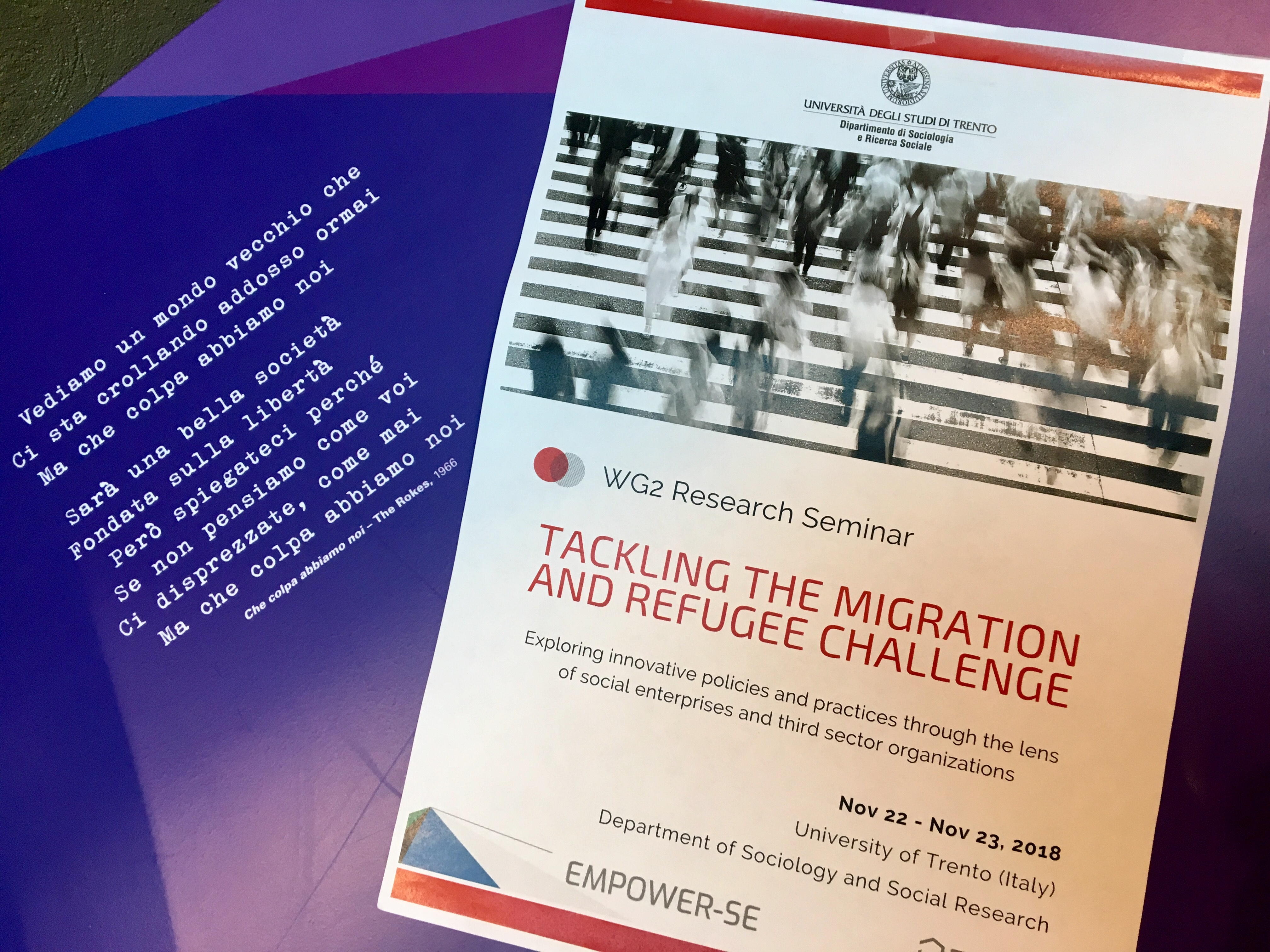 Sharing practices and approaches to tackle the migration and refugee challenge in Europe
