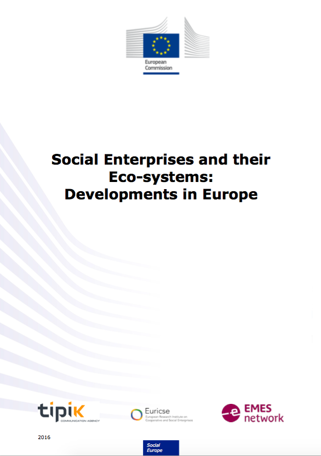 Social enterprise mapping update just published