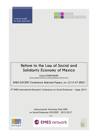 Reform to the Law of Social and Solidarity Economy of Mexico