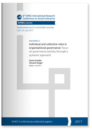 Individual and collective roles in organisational governance: focus  on governance activity through a systemic approach